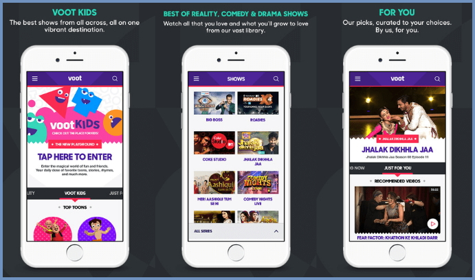 Voot download for Android