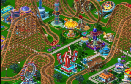 Rollercoaster Tycoon game